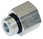 6410-08-06 Hydraulic Adapter 1//2 Male BOSS X3//8 Female BOSS Carbon Steel