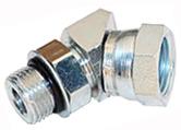 "6902-10-08 Hydraulic Fitting 5//8/"" Male O-Ring X 1//2/"" Female NPT Pipe Swivel 45"