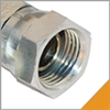 NPSM Pipe Swivel Steel Fittings
