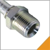 1 Piece NPTF Crimp Fittings